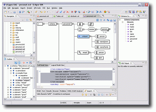 Oxygen XML Editor и XSLT